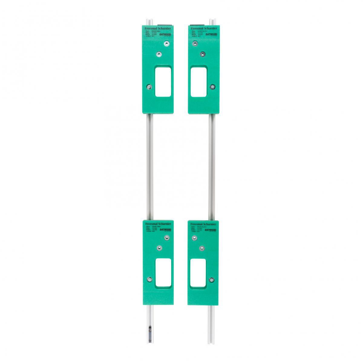 4 piece router template set size 89x89