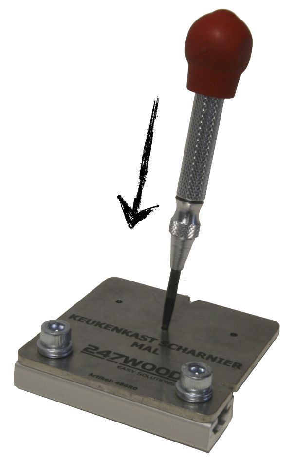 automatic center punch