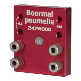 247wood Boormal paumelle
