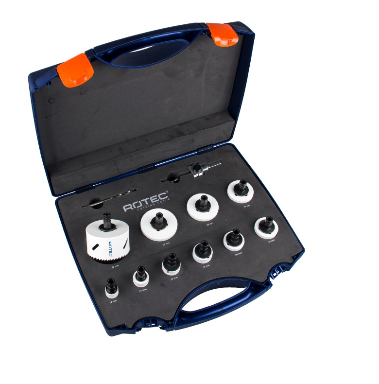 box drill set 13 pieces electrician