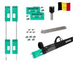 Contractor router template set size 80x80