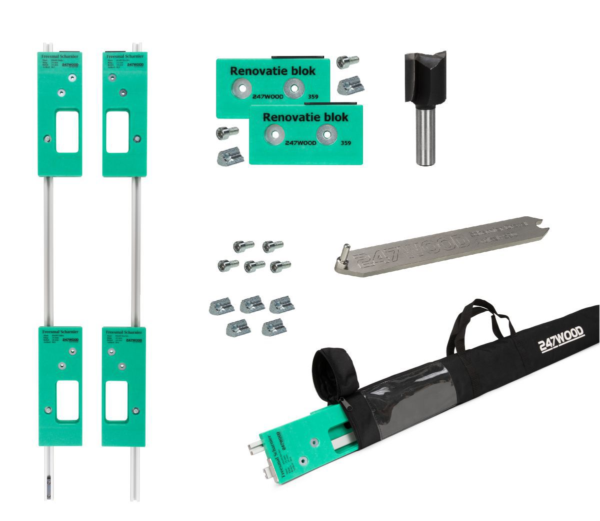 contractor router template set size 89x89