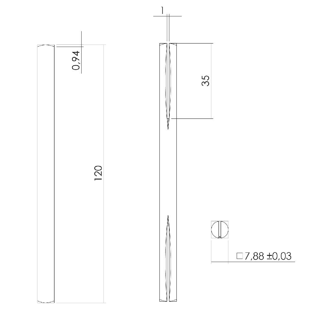 door handle connector