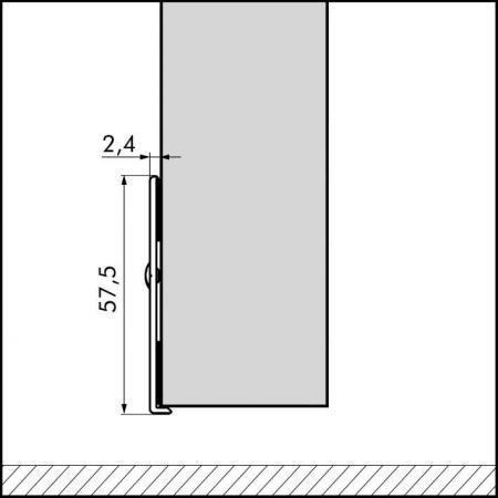 ellen protective plate aluminum 1030mm