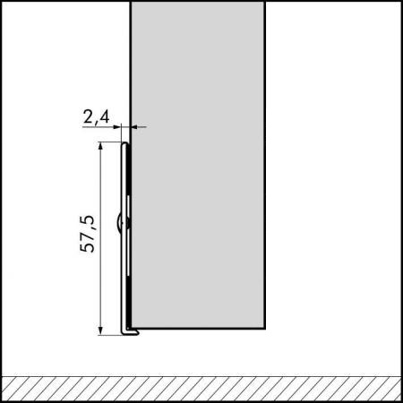 ellen protective plate black 1030mm