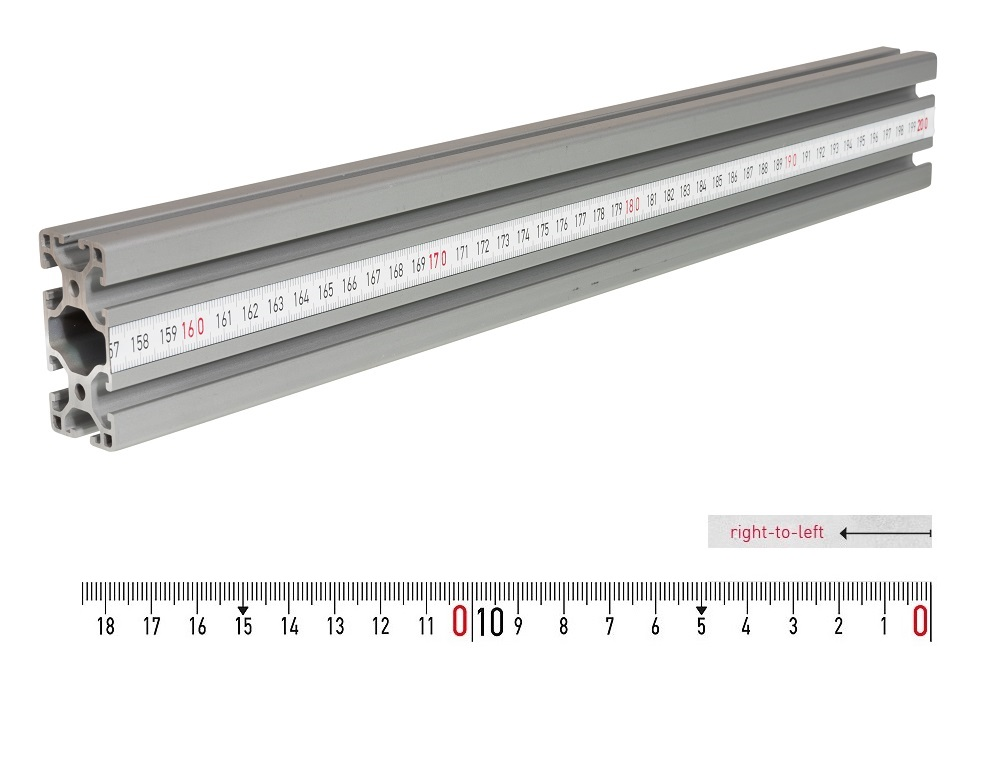 fence rail measuring tape 10m rl