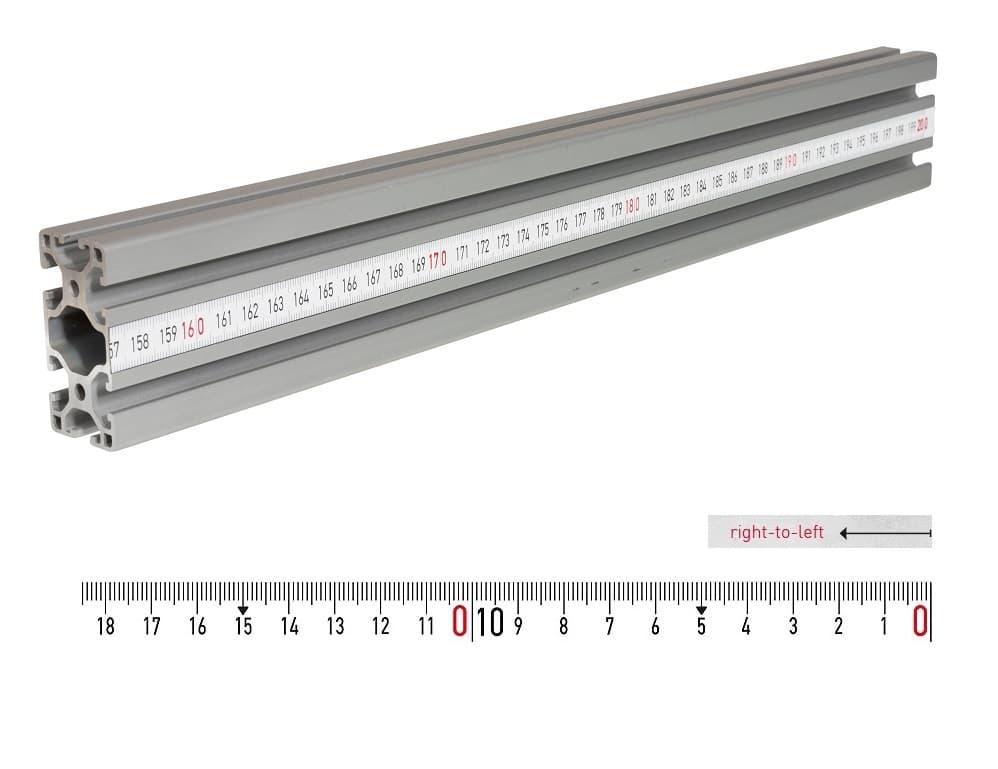 fence rail measuring tape 2m rl