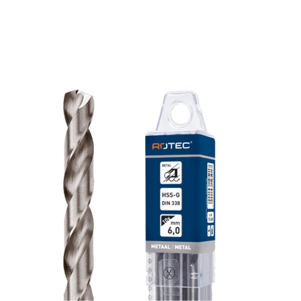 hss drill 125mm 5 pc