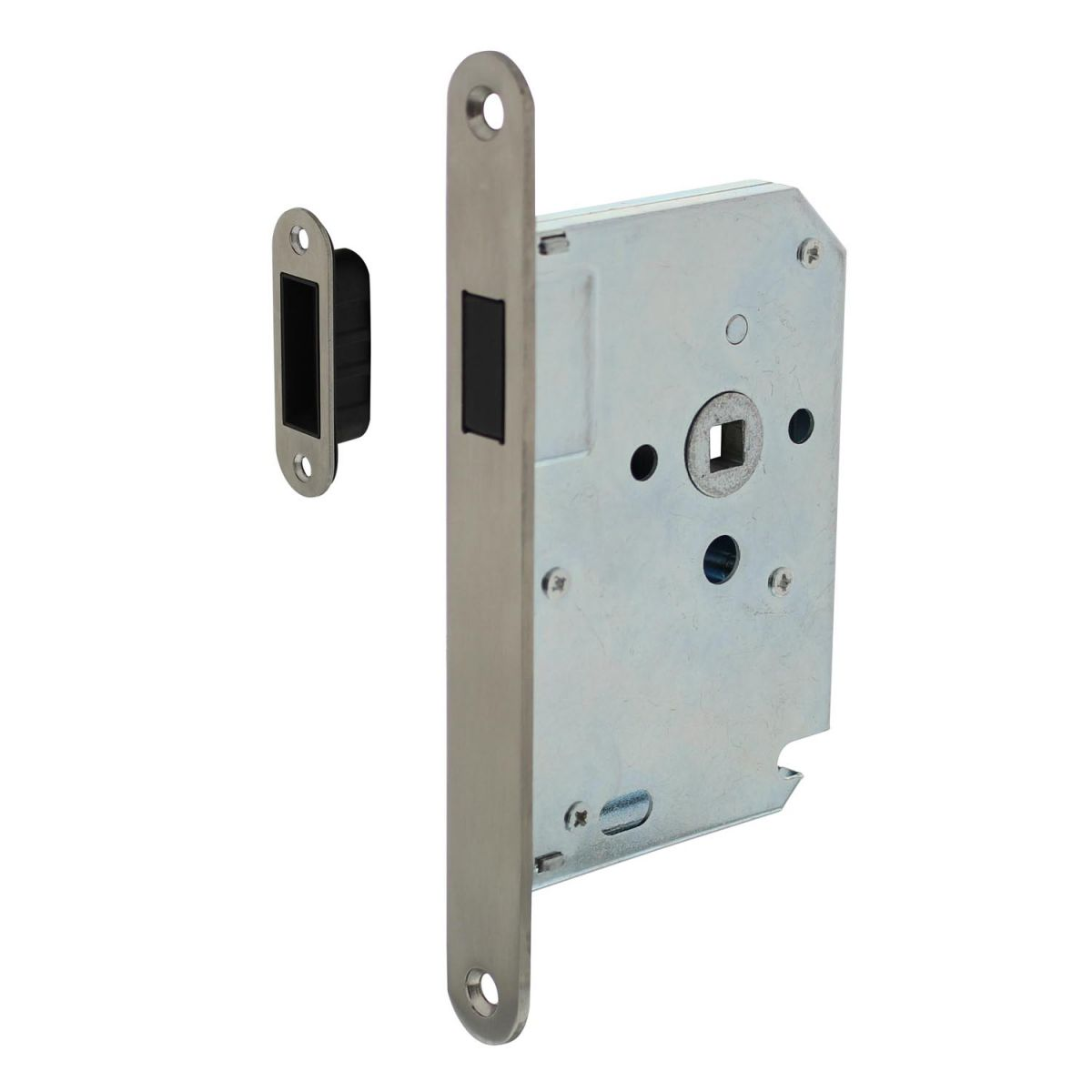 magnetic lock with stainless steel front plate