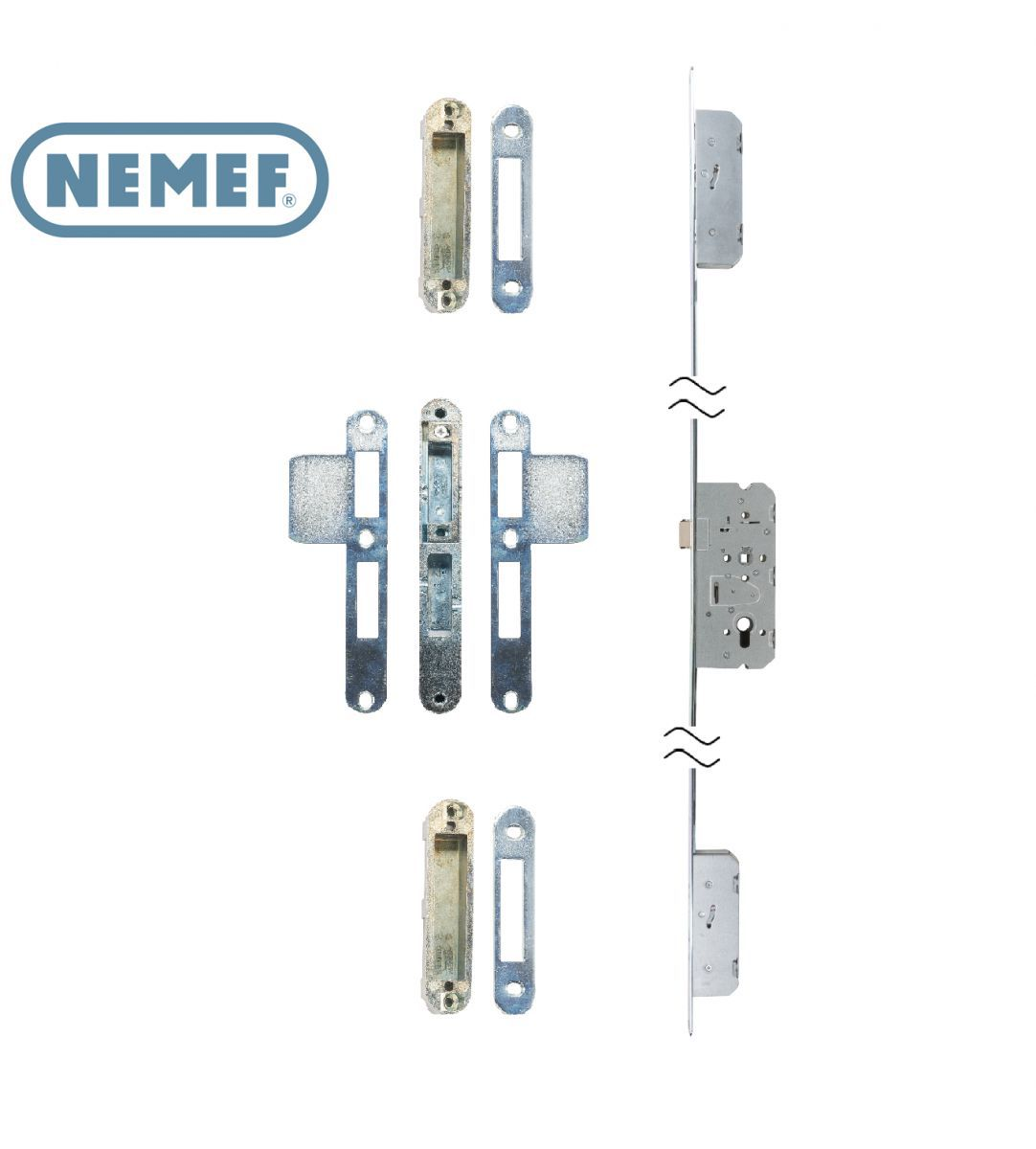 nemef multipoint lock skg cylinder operated