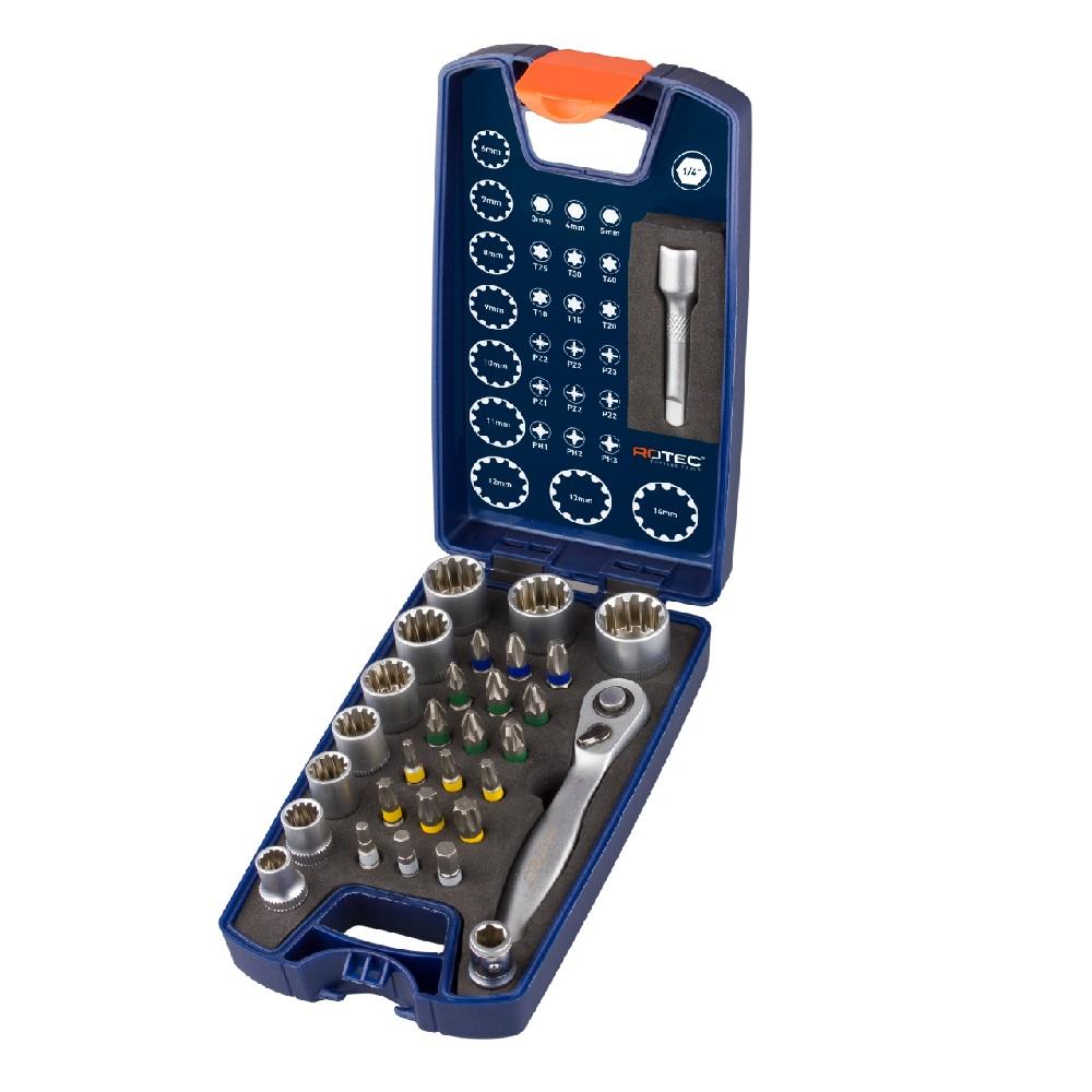 rotec hex socketsset 30piece