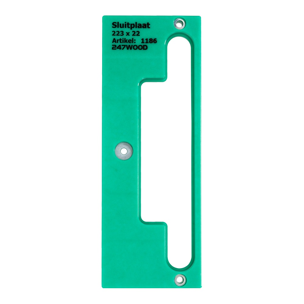 route template strike plate 185x25