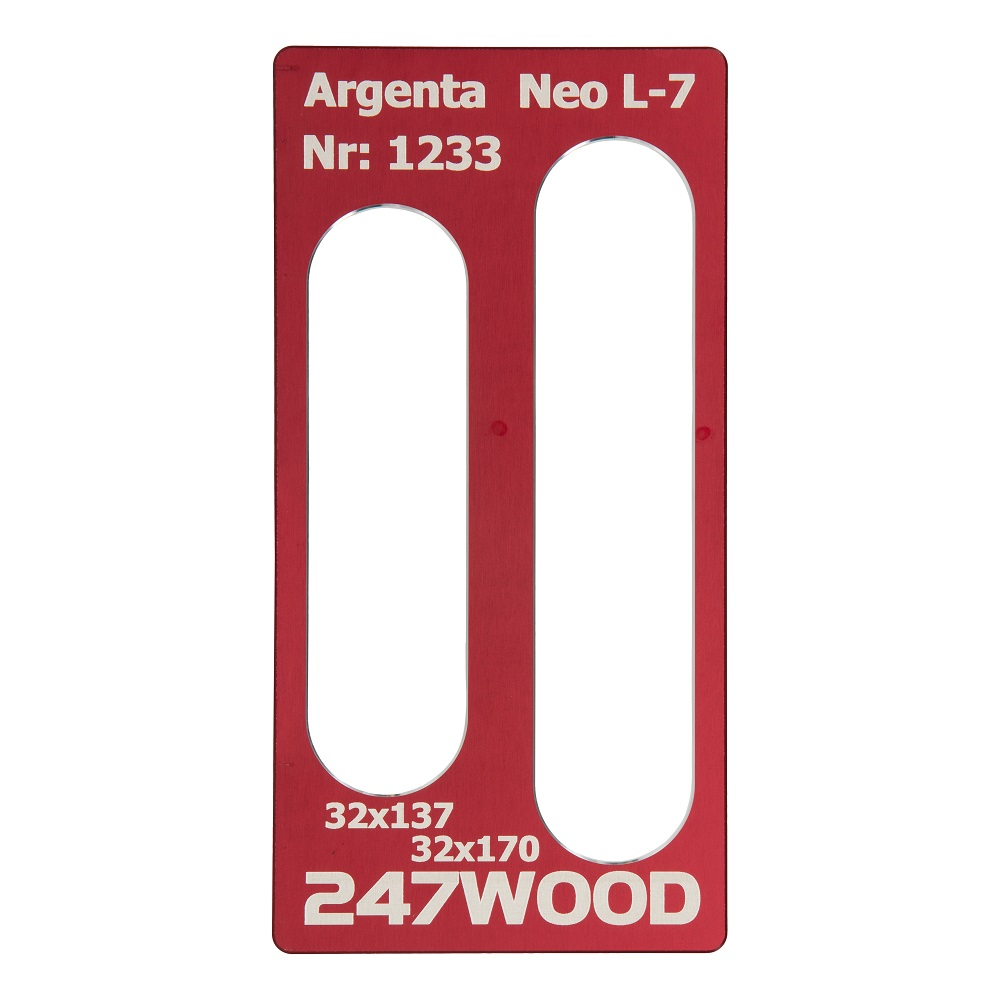router template argenta neol7 170x32