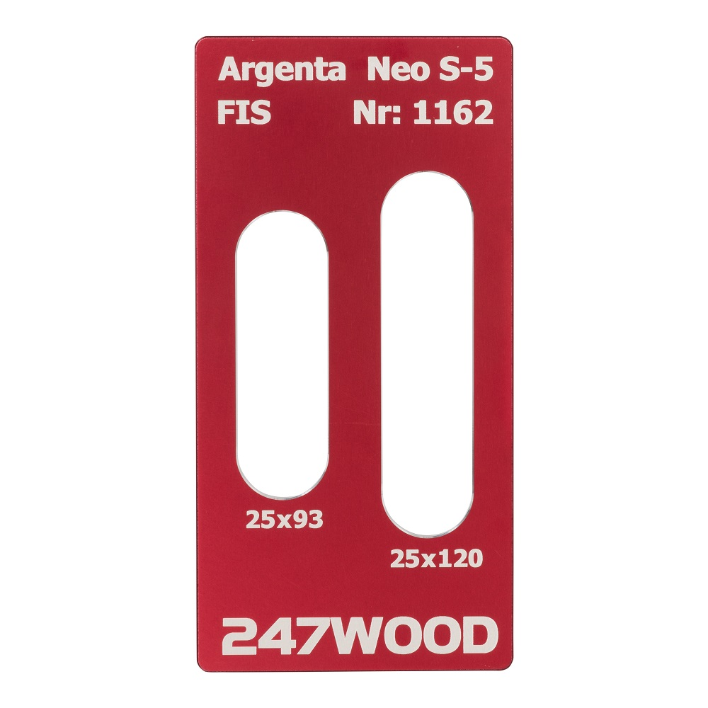 router template argenta neos5 120x25
