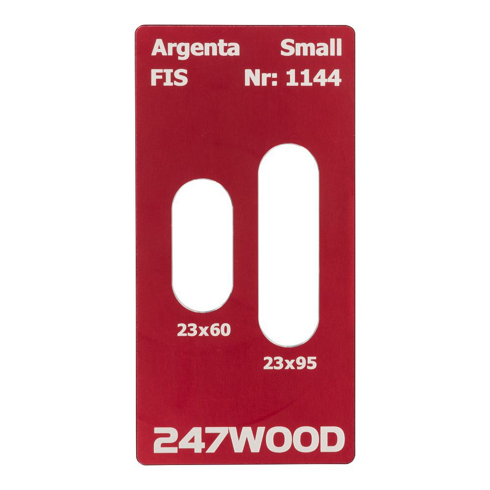router template argenta small 95x23