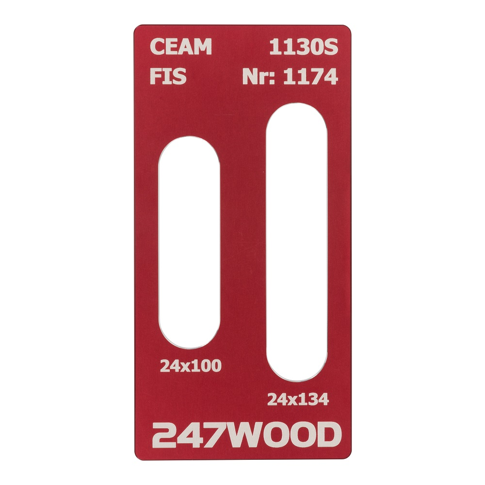 router template ceam 134x24