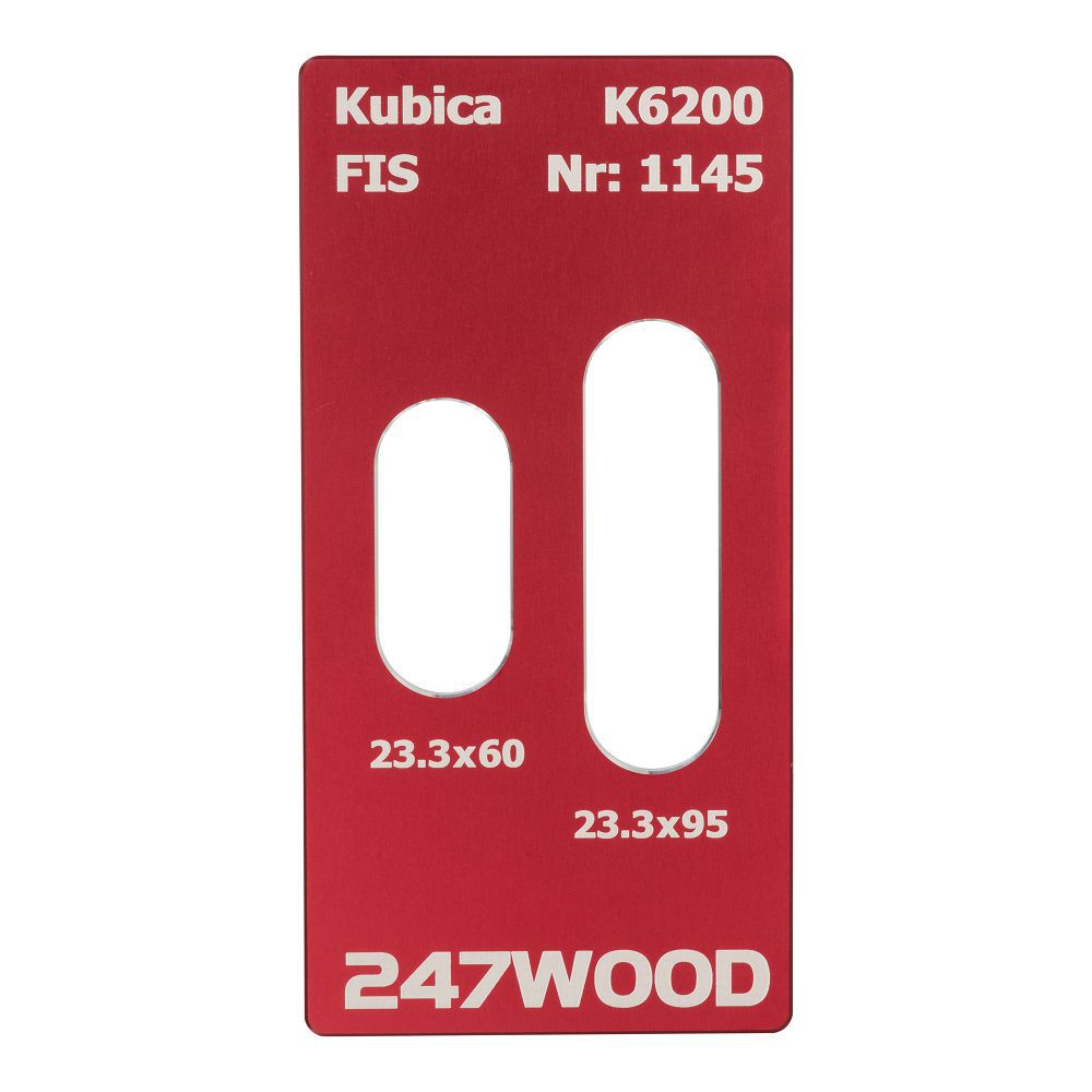 router template kubica k6200 95x233