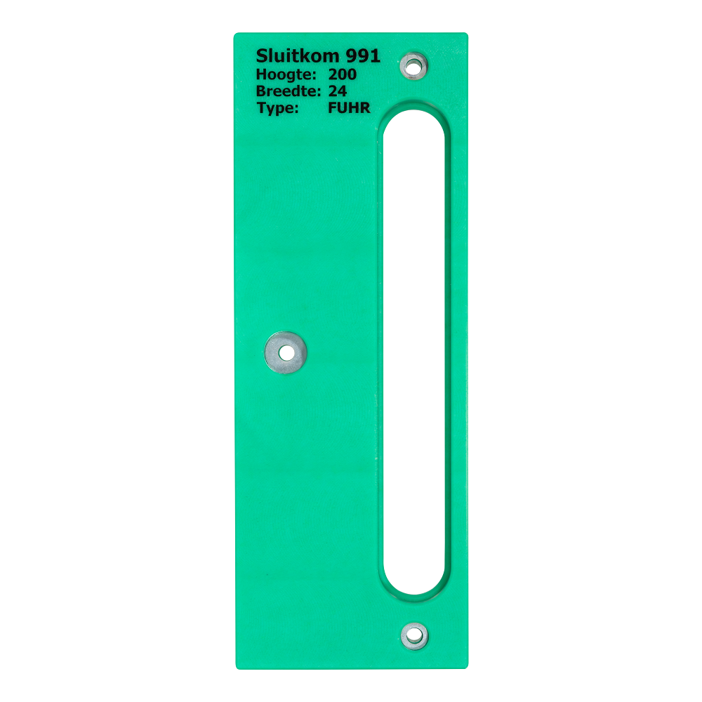 router template strike plate 200x24