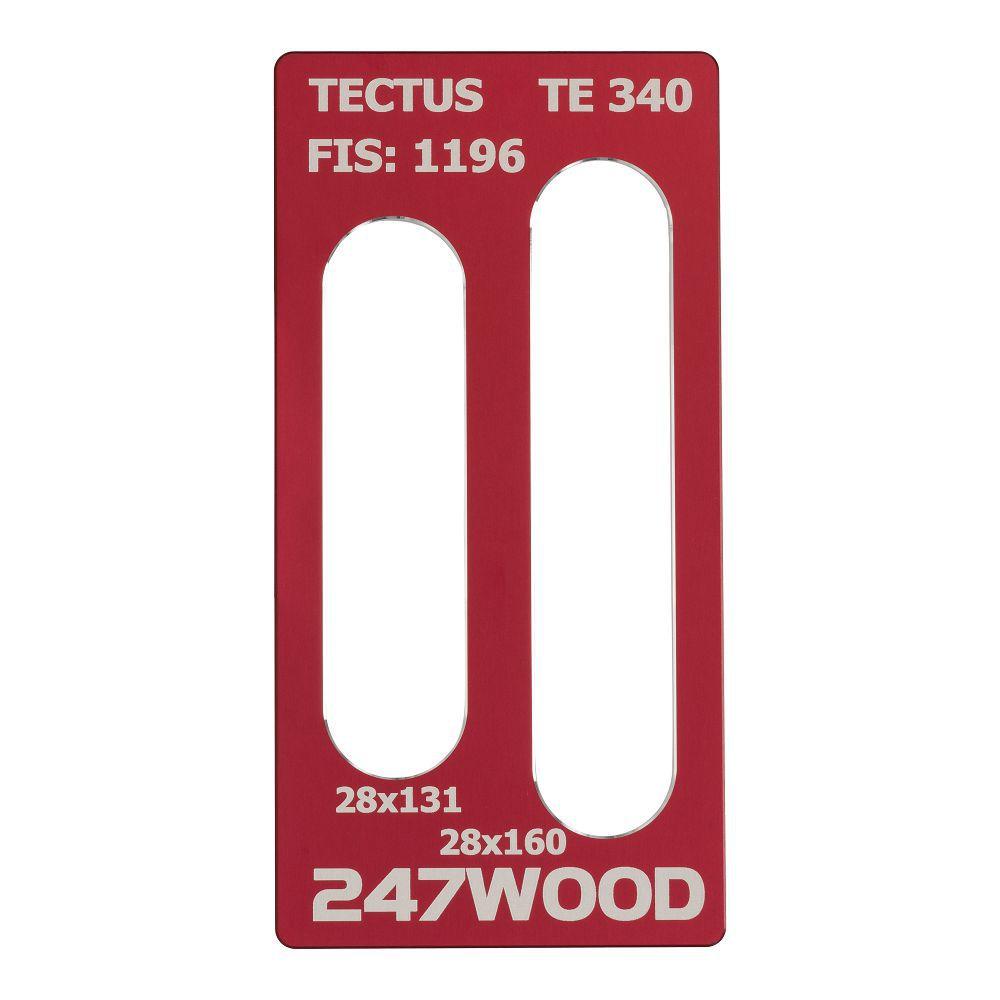 router template tectus te 340 160x28