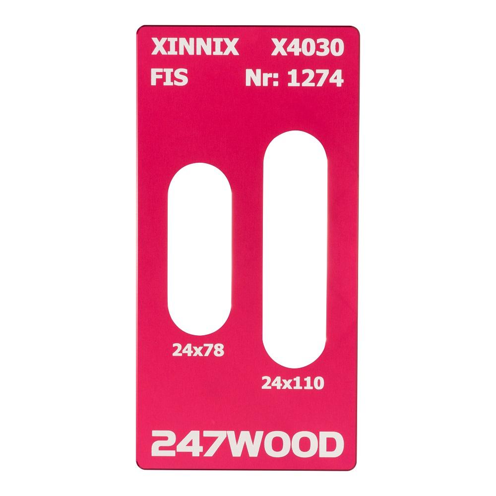 router template xinnix x4030 110x24