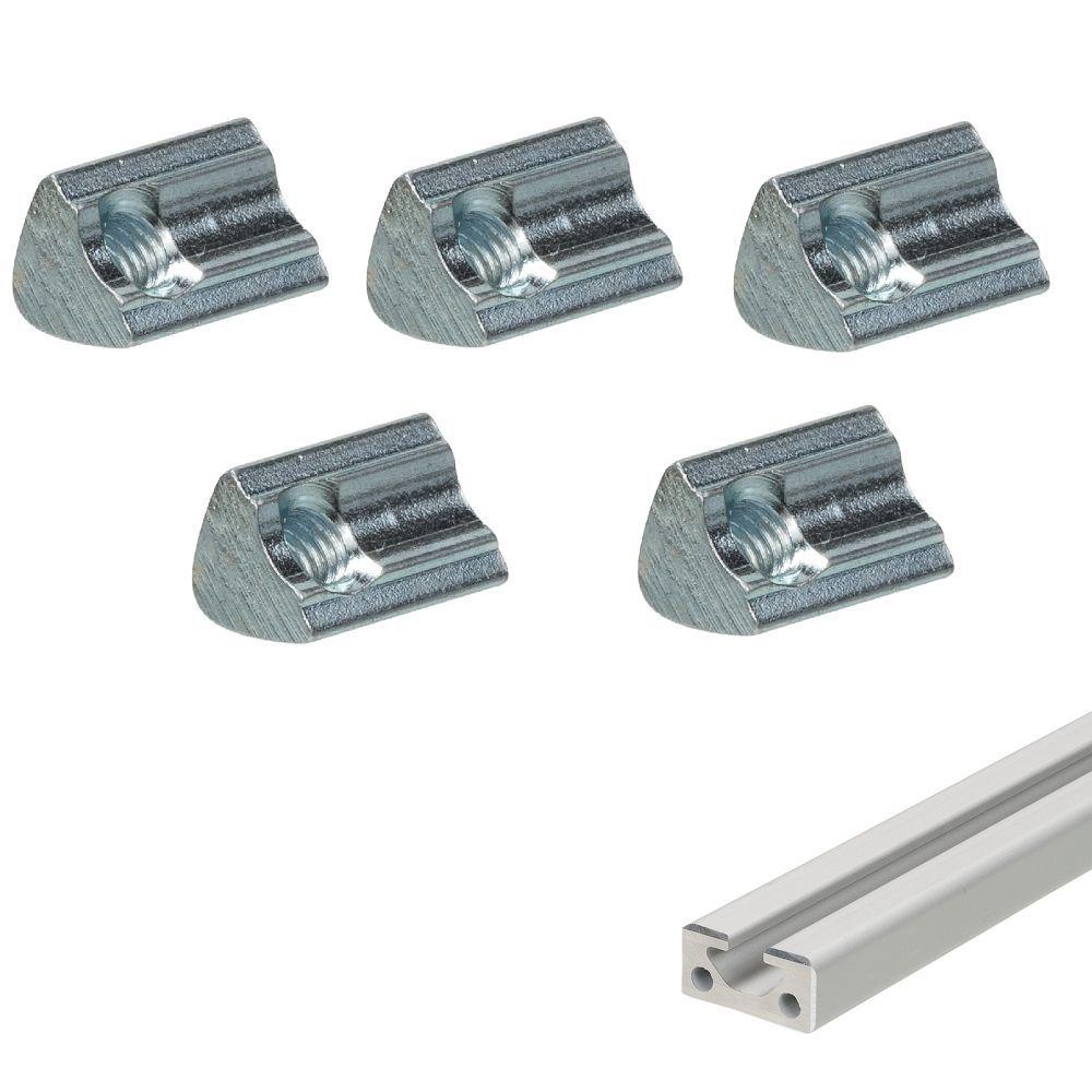 slide nut m5 5 pieces