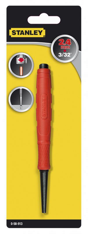 stanley nail punch 24mm
