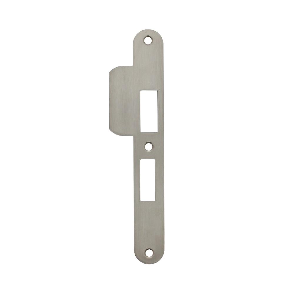 strike plate vhc lock 55mm left stainless steel