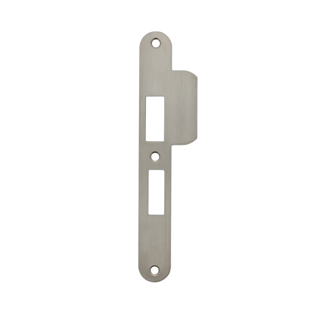 strike plate vhc lock 55mm right stainless steel