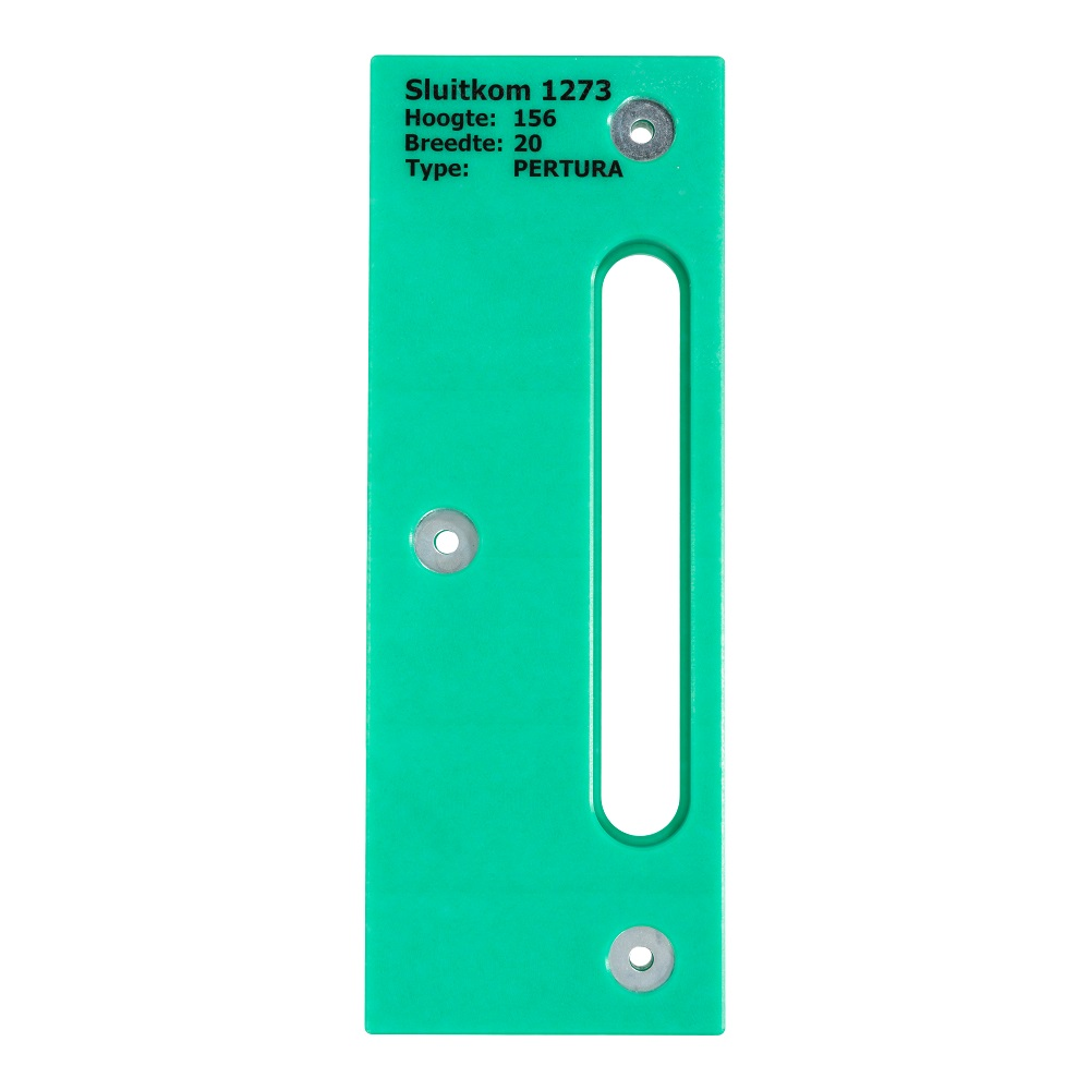 strike pocket pertura magnet lock 156x20